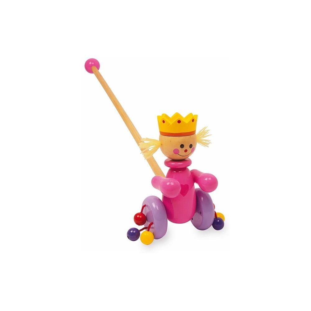 Fotografie Dřevěná tahací hračka Legler Queen