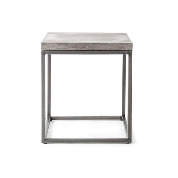 Măsuță auxiliară din beton Lyon Béton Perspective, 35 x 40 cm