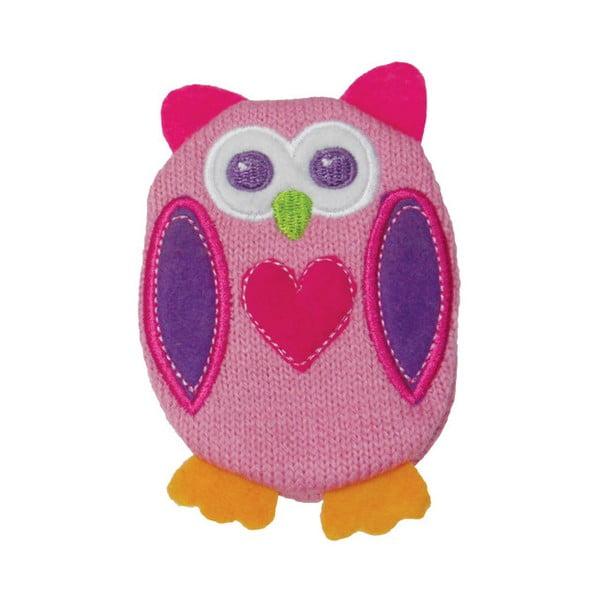 Nahřívací gelový polštářek s pleteným povlakem Ladelle Owl