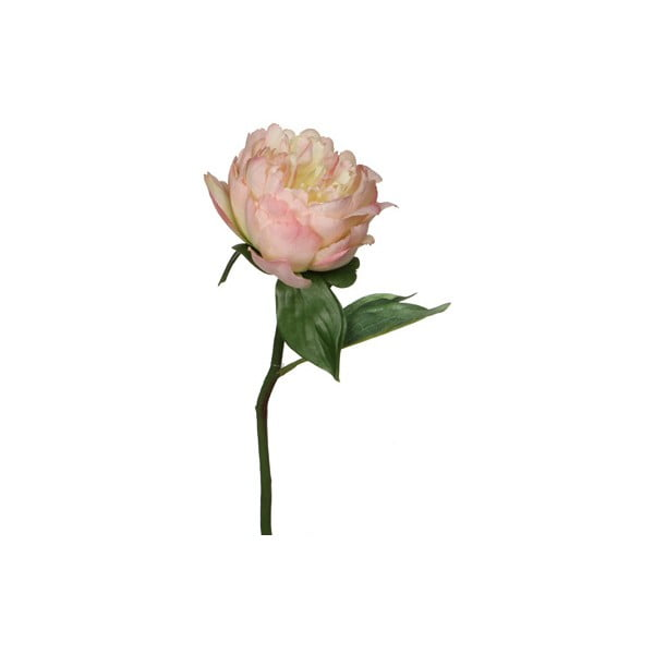 Umělá květina Peony Cream, 33 cm