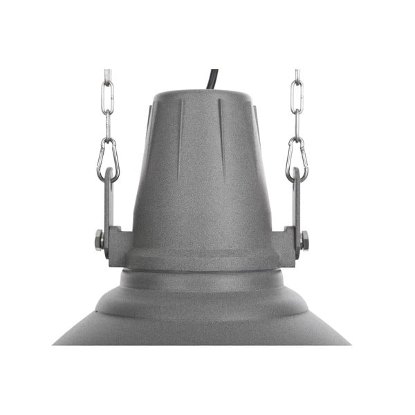 Šedé stropní světlo NORR11 Industrial Lamp