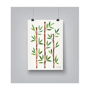 Poster Americanflat Bamboo, 30 x 42 cm