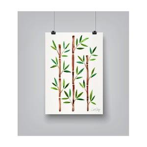 Plakát Americanflat Bamboo, 30x42cm