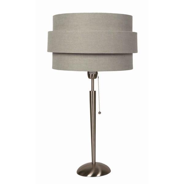 Stolní lampa Revival Satin/Grey