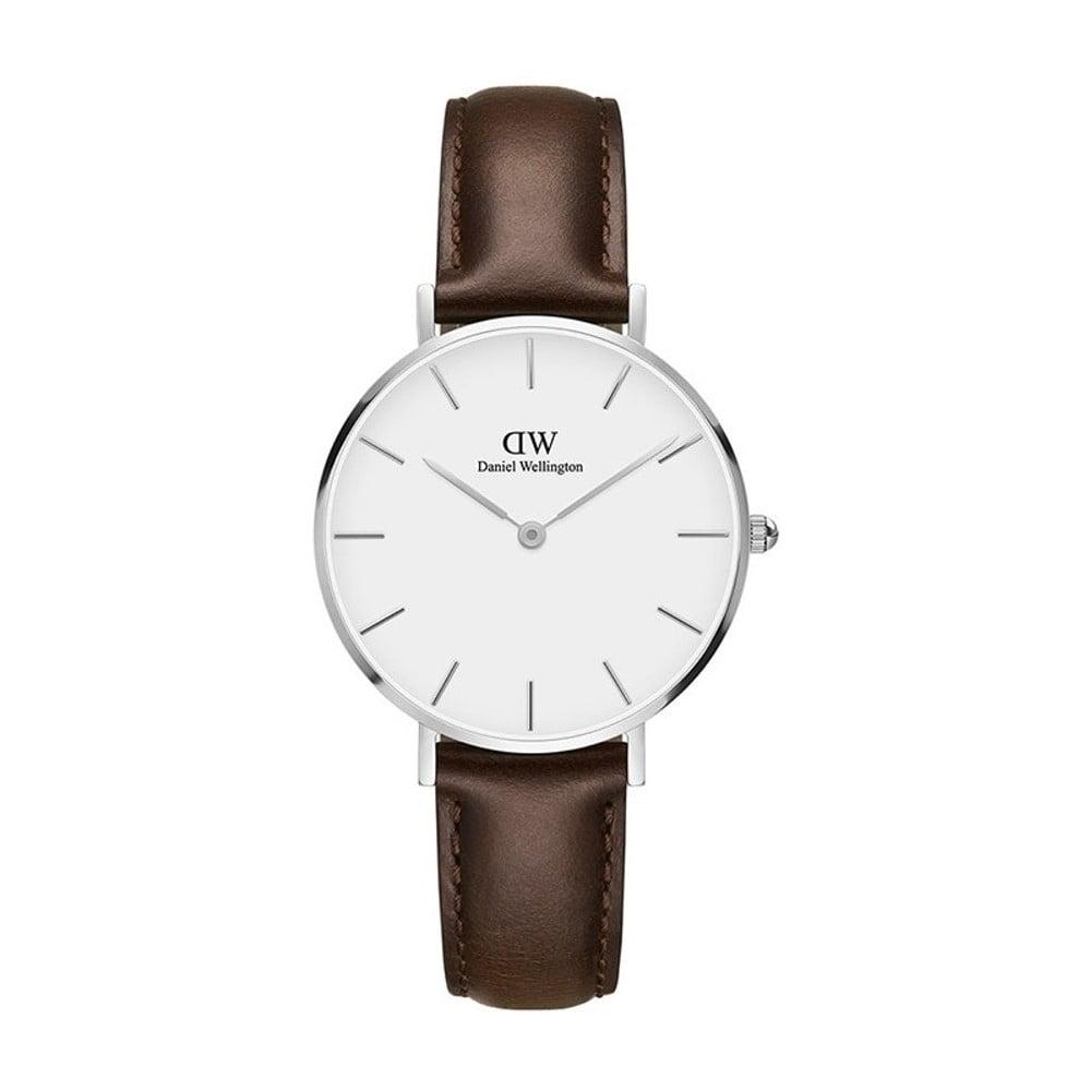Dámské hodinky s hnědým páskem Daniel Wellington Bristol, ⌀ 32 mm