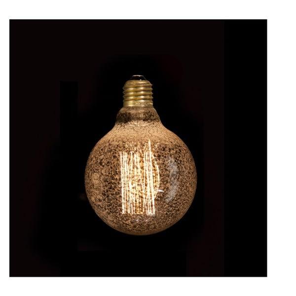 Wolframová dekorativní žárovka Silver Globe, 40W
