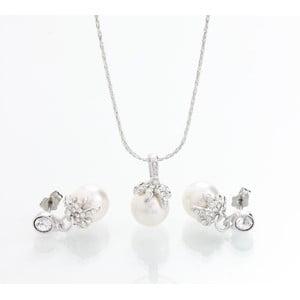 Set náhrdelníku a náušnic se Swarovski Elements Laura Bruni Chica