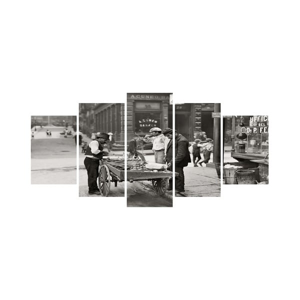 Vícedílný obraz Black&White no. 26, 100x50 cm