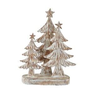 Dekorace s vánočními stromky KJ Collection, 29 cm