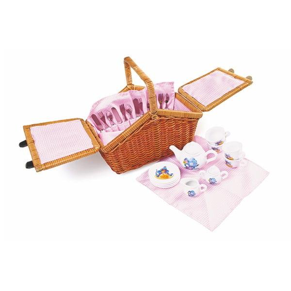 Picnic Romantic játék piknikkosár - Legler