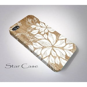 Obal na iPhone 4/4S Wood Floral Big