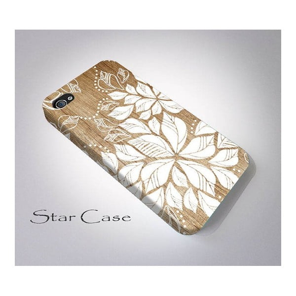 Obal na iPhone 5/5S Wood Floral Big