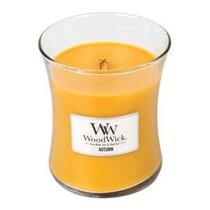 Lumânare parfumată WoodWick, aromă de tort de mere, coacăze și afine, 60 ore