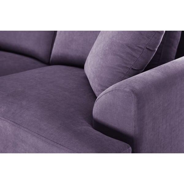 Trojdílná sedací souprava Jalouse Maison Irina, fialová