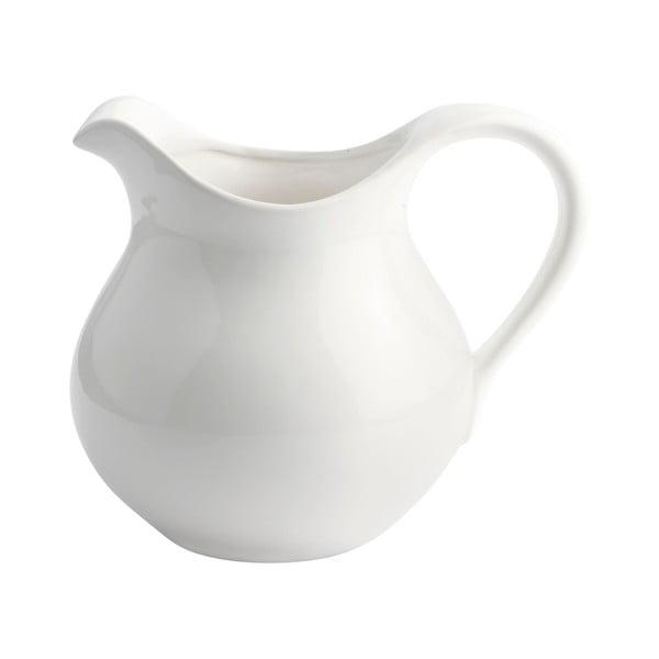 Keramický džbánek, bílý