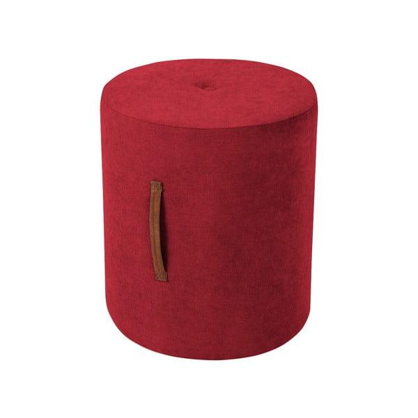 Czerwony taboret Kooko Home Motion, ø 40 cm