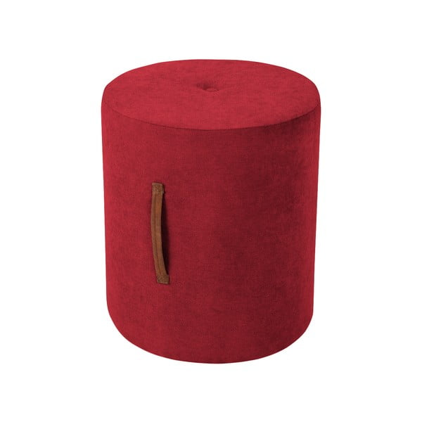 Červená taburetka Kooko Home Motion, ø40cm