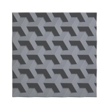 Suport din silicon pentru oale fierbinți Zone Origami Fold, gri de la Zone