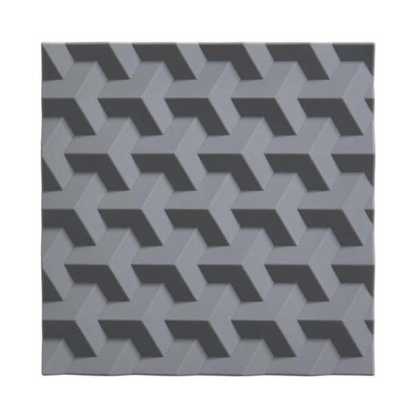 Origami Fold szürke szilikon edényalátét - Zone