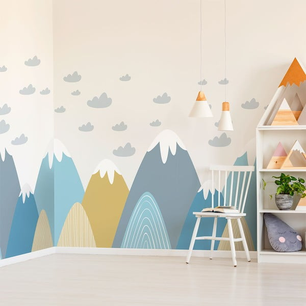Autocolant Ambiance Scandinavian Giant Mountains Blanka