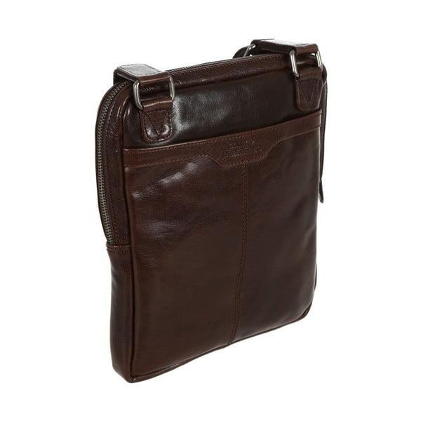 Pánská kožená taška Bader Brown