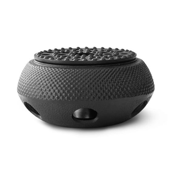 Jang fekete öntöttvas teáskanna-melegítő, ⌀ 14,4 cm - Bredemeijer