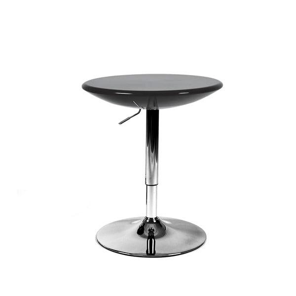 Posuvný svačinový stolek Milan, černý