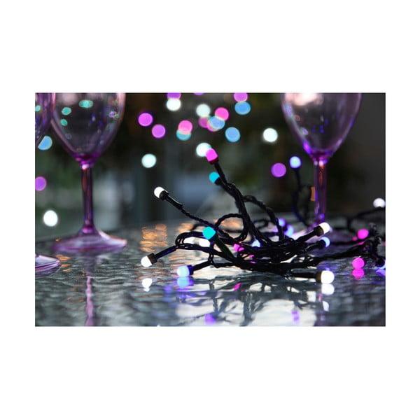 Vícebarevný světelný řetěz Beads
