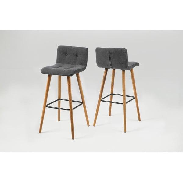 Barová židle Frida, světle šedá