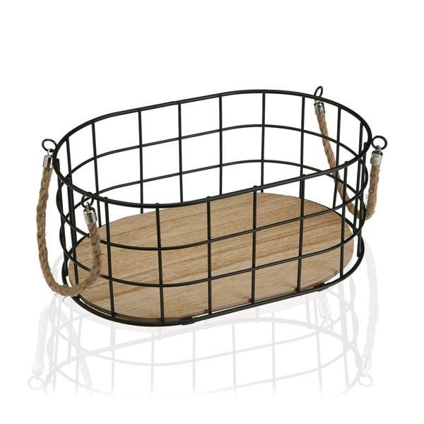 Oválny košík Versa Ovalada Grande, šířka 29 cm
