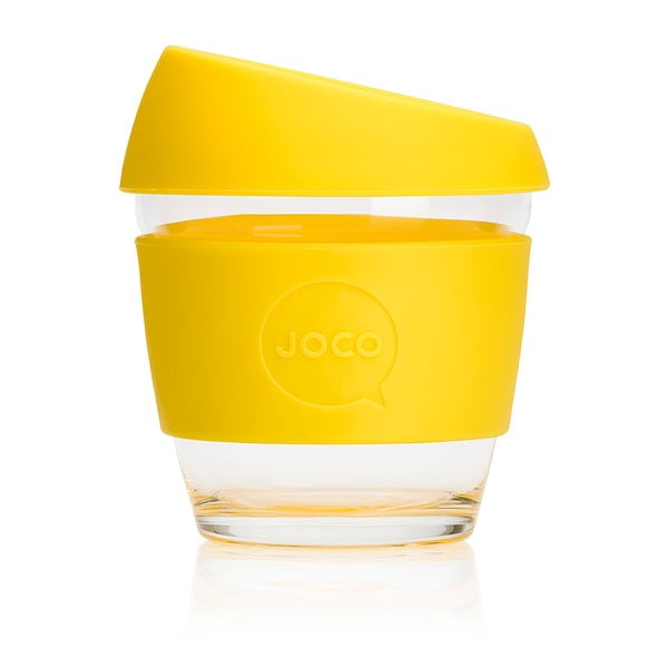 Cestovní hrnek na kávu Joco Cup 227 ml, žlutý