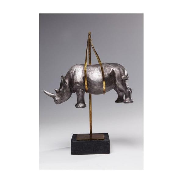 Dekorace Kare Design Hanging Rhino, výška 43cm
