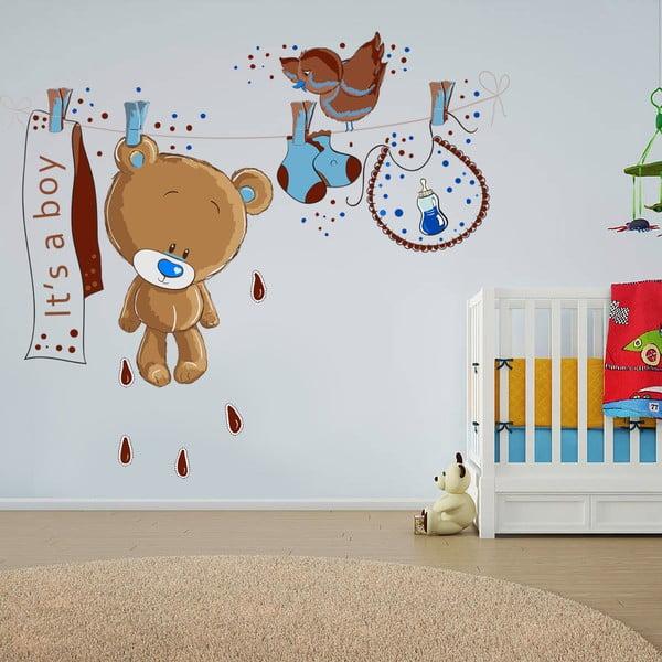 Dekorativní samolepka na zeď Medvídek