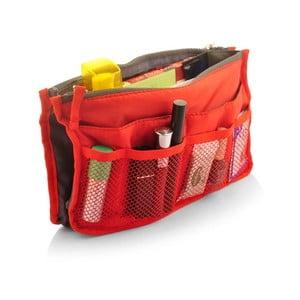 Trusă pentru călătorii cu 7 compartimente Bonita, roșu