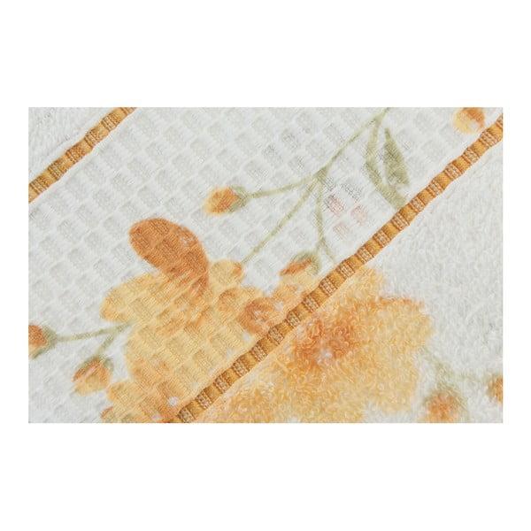 Sada 2 osušek Camene Yellow, 50x90 cm