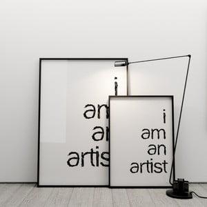 Plakát I am an artist, 50x70 cm