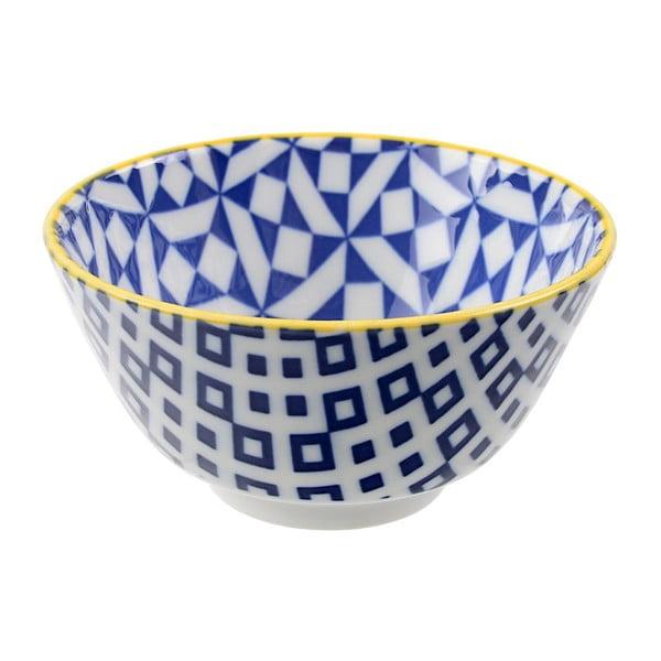 Porcelánová miska Geo Rice Geometric, 12x6,4 cm