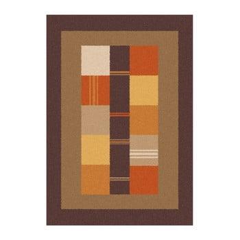 Covor Universal Boras Donno, 57 x 110 cm, maro-portocaliu de la Universal
