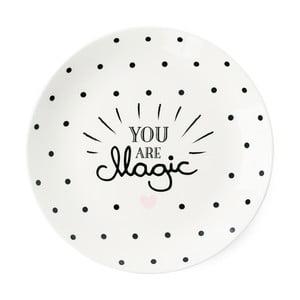 Keramický talíř Miss Étoile You Are Magic, ⌀ 17 cm