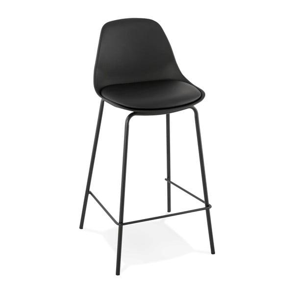Čierna barová stolička Kokoon Escal Mini