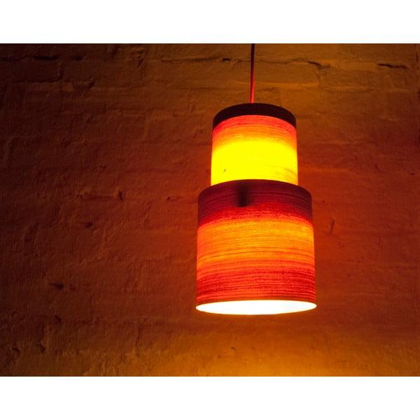 Ručně vyráběné světlo Retro, třešeň