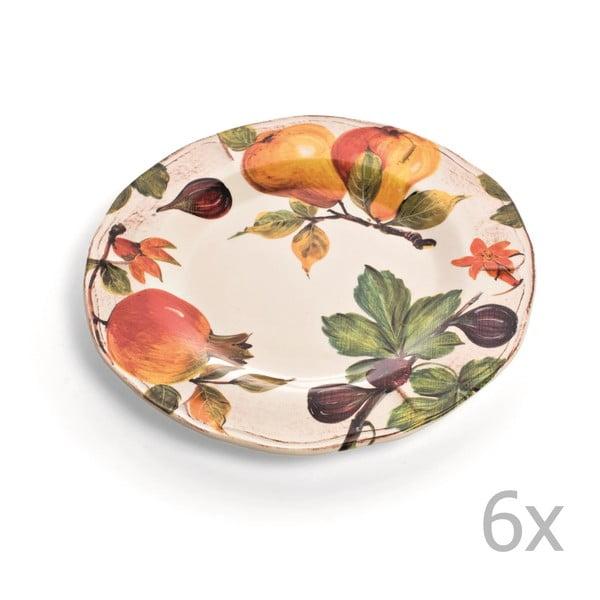 Sada 6 talířů Grenade, 30 cm