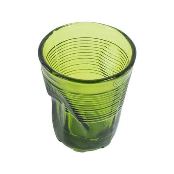 Sada 6 zelených sklenic Kaleidos, 225ml
