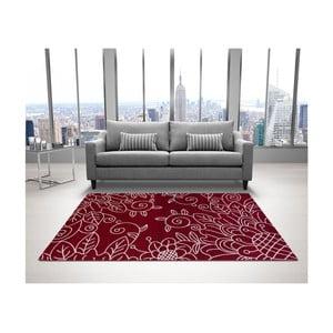 Červený koberec DECO CARPET Tripoli, 133 x 190 cm