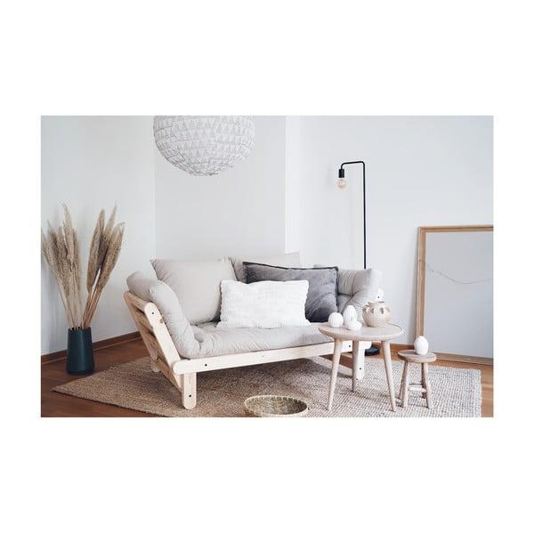 Canapea extensibilă Karup Design Beat Black/Natural