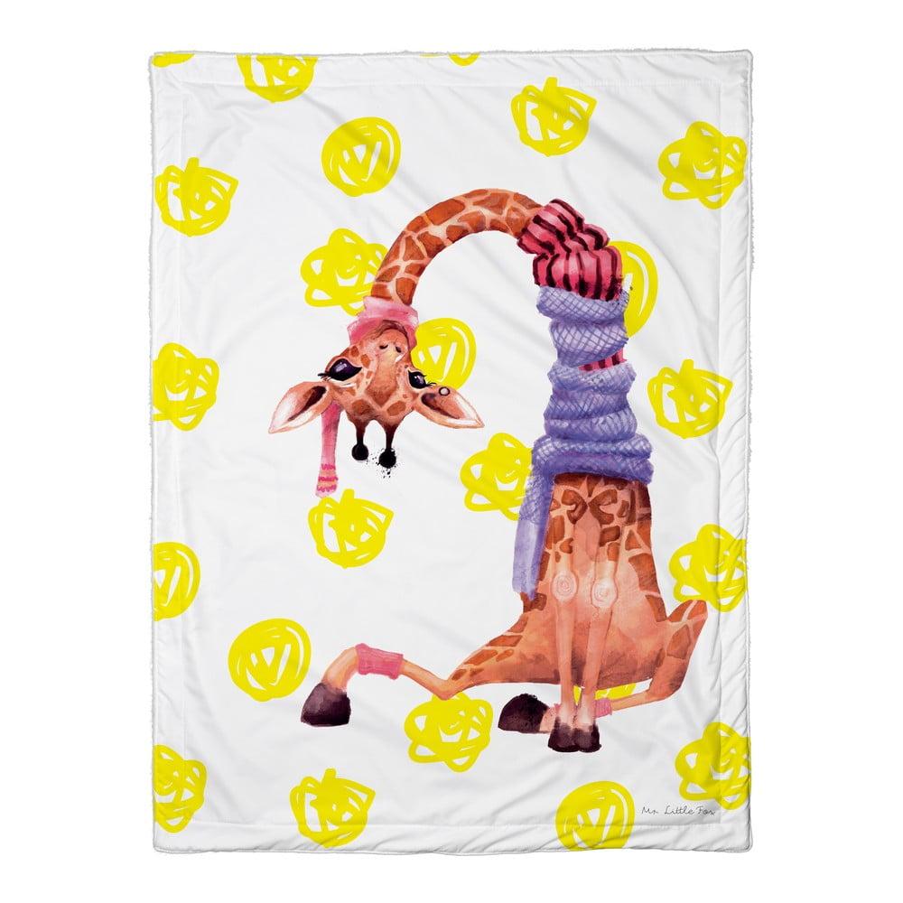 Dětská přikrývka Mr. Little Fox Boys Safari Friends, 100 x 70 cm
