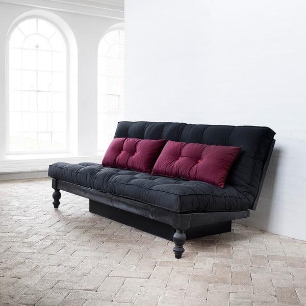 Canapea extensibilă Karup Rock-O Sofa Bordeaux