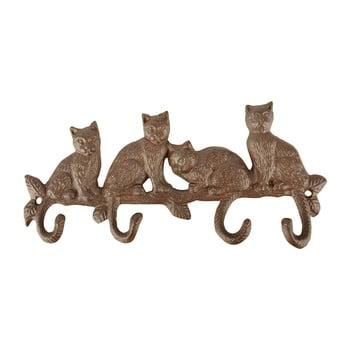 Cuier de perete Esschert Design Lumea Pisicilor imagine
