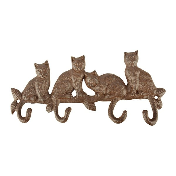 Macskavilág öntöttvas falifogas - Esschert Design