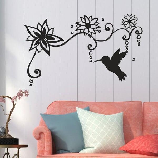 Dekorativní nálepka na stěnu Hummingbird